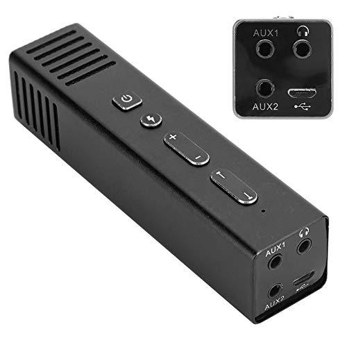 eboxer-1 Aluminum Full CNC Phone Mic Portable Voice Amplifier Mini Voice Changer for for Sound(Black)