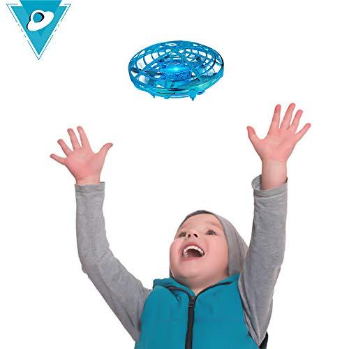 TekHome UFO Mini Drone, Juguetes Niños 3 4 5 6 Años, Regalos Cumpleaños para Infantil Niñas 7 8 9 10 Años, Regalos Originales Navidad, Sensor Infrarrojo, Operado a Mano.