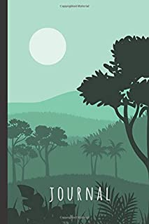 Forest Journal: Forest Notebook: Enchanted Green Forest Journal Notebook To Write In - Forest Gifts For Men & Women: Fores...