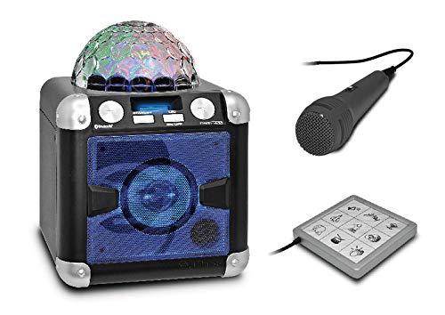idance Party Cube BC-5L Wired karaoke systeem (40 W, bedraed, 10 m, LED, batterij, geïntegreerd)