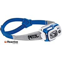 Petzl SWIFT RL - Linterna (Linterna con cinta para cabeza, Azul, Gris, IPX4, LED, 1 lámpara(s), 700 lm)