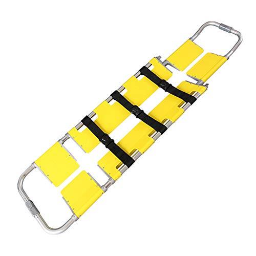 fall Klappbahre, Folding Scoop Stretcher, EMS Medical Folding Notbewegliches Reisegröße Patiententransport Einstellbare Light Weight