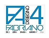 Fabriano 05200597 Alise 800hojas - Papel para dibujo (20 hojas, F.S.C.)