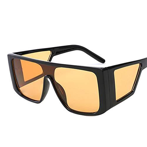 LZQpearl Gafas Sol Retro Unisex, Gafas Antideslumbrantes, Luz Antirrefleja por La Noche, Adecuadas para Citas, Fiestas, Viajes, Ciclismo, (F)