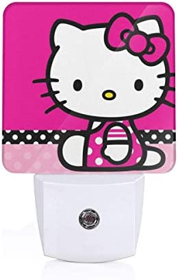 Plug in Night Light Hello Kitty Warm White LED Nightlight with Automatic Dusk to Dawn Sensor product image