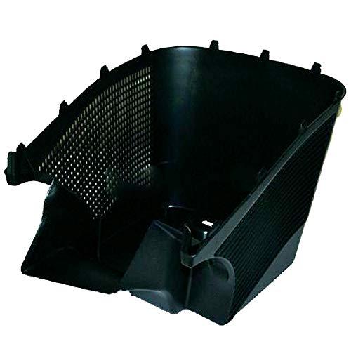 Spares2go - Cubo de basura para cortacésped Bosch Rotak 1400 34 340 36 37 370 Ergoflex, 40 L, color negro
