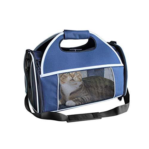 Cages JXLBB Sac pour Chien Pliable Bleu Sac pour Animal de Compagnie Sac Portable pour Chien Sac pour Chien Sac pour Chien