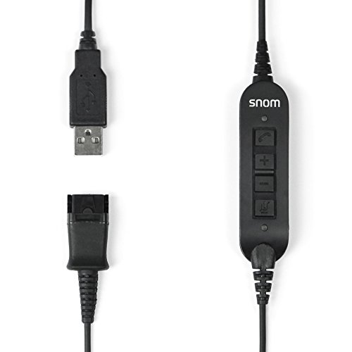 SNOM ACUSB USB Adapter Cable for A100M/A100D Snom headsets