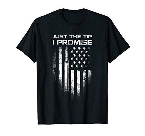 Veteran Just The Tip I Promise shirt US Flag