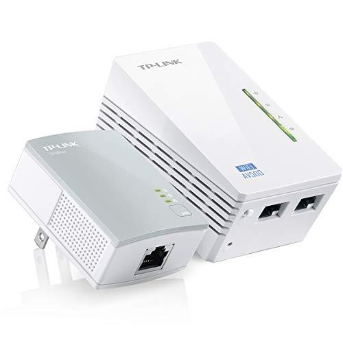 TP-LINK TL-WPA4220KIT V3 300 Mbit/s Collegamento ethernet LAN Wi-Fi Grigio, Bianco 2 pezzo(i)