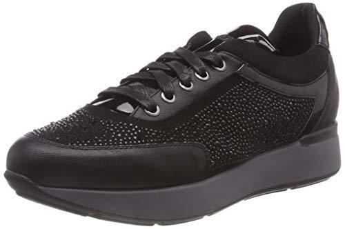 Stonefly Face 13 Nappa/Strass, Zapatos de Cordones Oxford Mujer
