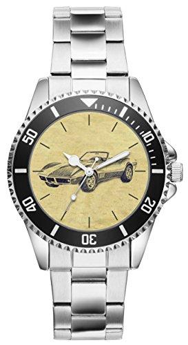 Geschenk für Corvette C3 Oldtimer Fan Fahrer Kiesenberg Uhr 6234