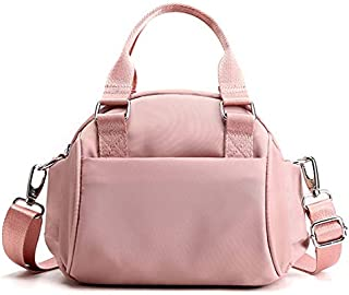 TOOGOO New Women'S Mobile Phone Shoulder Messenger Bag Fashion Oxford Cloth Wild Handbag Pink