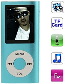 Digital Media Players 1.8 inch TFT Screen Metal MP4 Player with TF Card Slot, Support Recorder, FM Radio, E-Book and Calen...