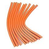 Spiral Hair Foam Curler Roller Set 2 Pack Deal Soft Twist-Flex Foam Hair Roller Curling Rods Flexi-Rods Bendy Curl Sponge DIY Styling Hair Rollers for Hair (20Rods)