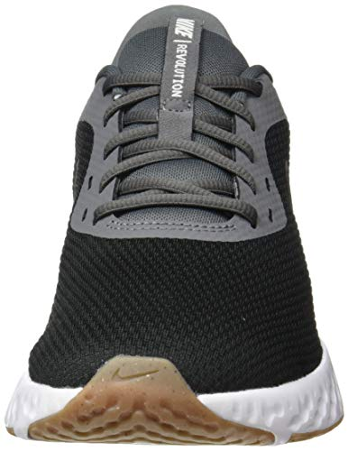 NIKE Revolution 5, Zapatillas de Correr Hombre, Black/Black-Iron Grey-Light Army-Barely Green-Gum Dark Brown, 43 EU