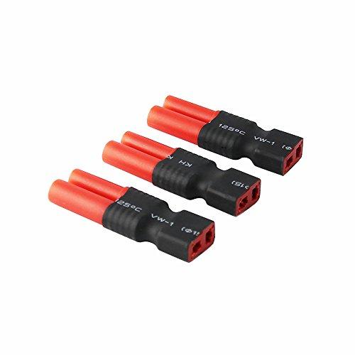 2 paire HXT 3,5mm Connecteur Femelle 3,5mm HOCHSTROM Connecteur Lipo Batterie