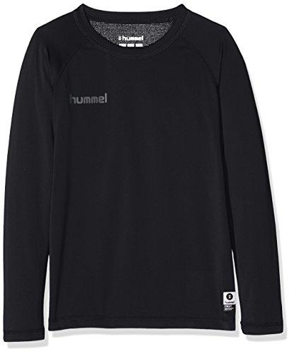 hummel Kinder First PERF Long Sleeve Jersey Trikot, Schwarz, 164