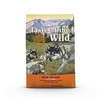 Prebiotic fiber Grain-free Antioxidants Roasted bison and roasted venison Omega fatty acid blend