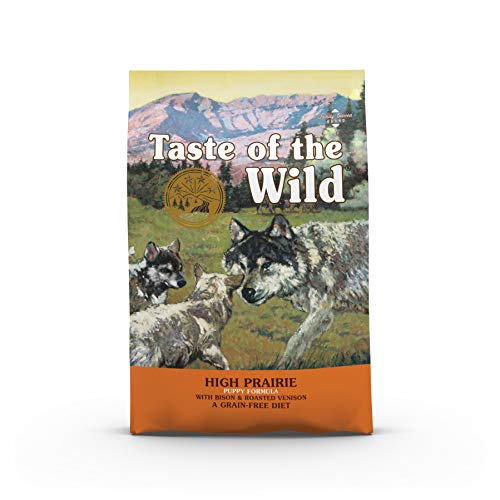 Taste Of The Wild pienso para cachorros con Bisonte y Venado asados 5,6kg High prairie puppy