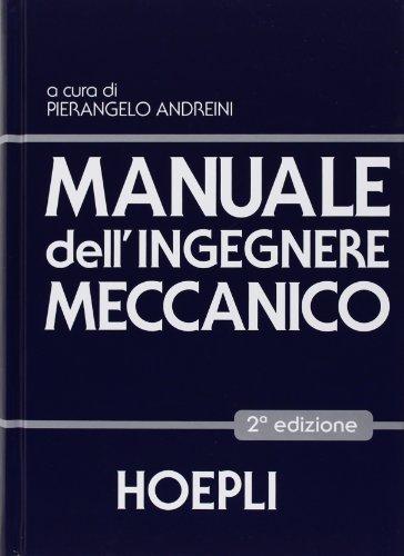 Manuale dell'ingegnere meccanico