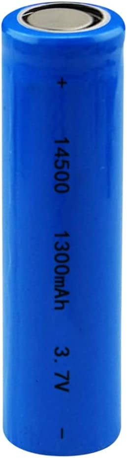 Rechargeable Batteries14500 Battery Direct Translated stock discount 3.7V 1300Mah Li