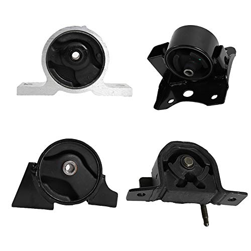 4pcs Front Right motor mounts A7314 A4305 A7315 A4301Fit For 2000-2006 Sentra 1.8L Engine Motor & Transmission Mount