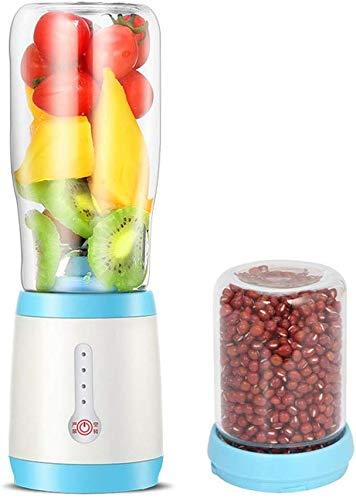 GPWDSN blender, fabrikant van smoothies, persoonlijke sapcentrifuge, multifunctionele keukenhulp van glas met roestvrij stalen messen
