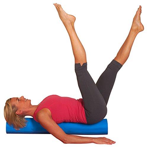 softX Pilates Trainingsgerät Rolle, Blau, 90 x 14.5 x 14.5 cm, 6520134