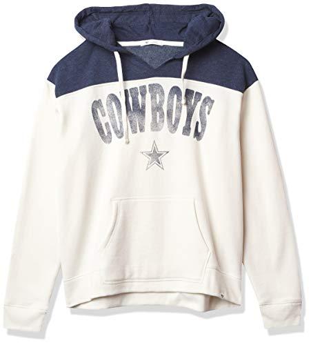 NFL Dallas Cowboys Womens Emerson Hoody, Sandstone, L
