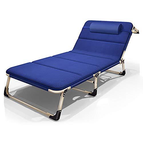 BLWX klapstoel – herfst en winter opvouwbare lunchpauze multifunctionele single single household dutje lounge stoel volwassenen vier seizoenen beschikbaar klapstoel