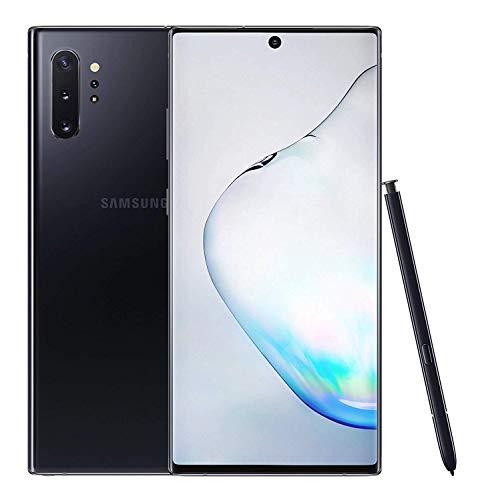 Galaxy Note 10+ Plus 4G Dual-SIM SM-N975F/DS 256GB (GSM Only, No CDMA) 4G/LTE Smartphone - International Version (Aura Black) (Renewed)