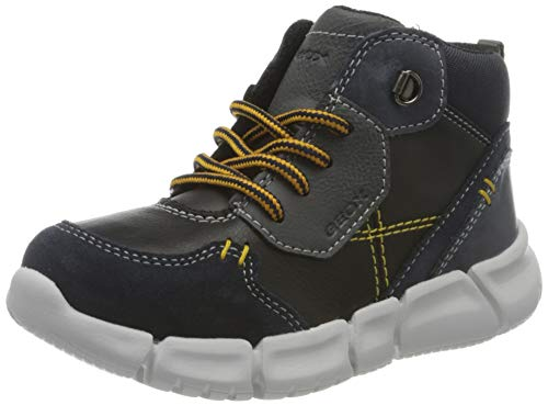 Geox Jungen B FLEXYPER Boy A Chukka Boot, Blue (Navy/Black), 27 EU