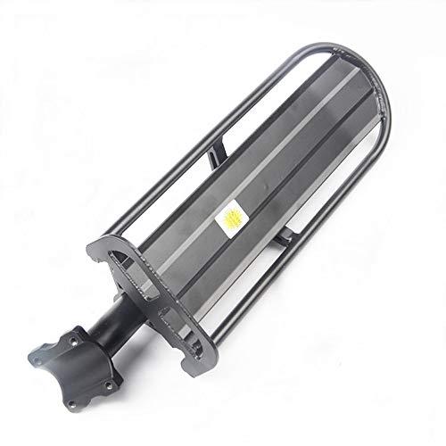 Walmeck Fahrradträger Kapazität Fahrrad Radfahren Schnellverschluss Fracht Rücksitze Gepäckträger Tasche Gepäcktasche mit Reflektor