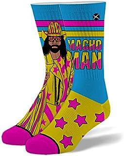 Odd Sox, Unisex, WWE Wrestling, All Stars, Crew Socks, WWF Novelty Cool Fun Silly Crazy