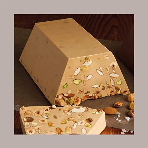 LUCGEL Srl (2 Kg) Blocco Cioccolato da Taglio Gianduia Bianco Salato VENCHI | Pasticceria Dolci