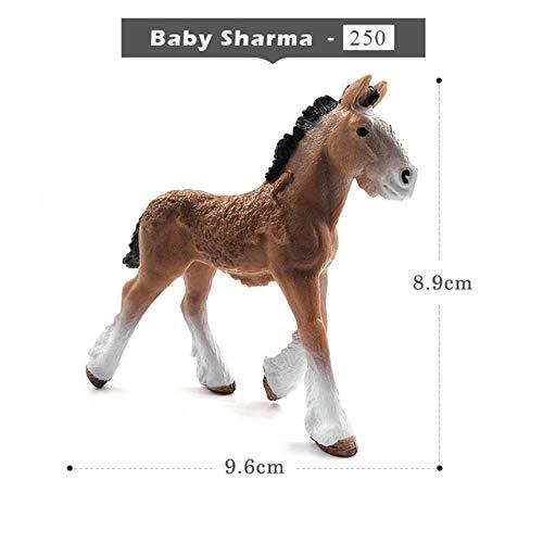 Yoin Simulatie dier model schattig paard beeldje Ambachten Action Figuur home decor miniatuur fee tuindecoratie accessoires standbeeld