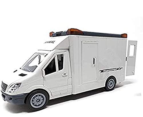 Spielzeug Auto, Pferdetransporter mit Sound inkl. Spielzeug Pferd, 27 cm