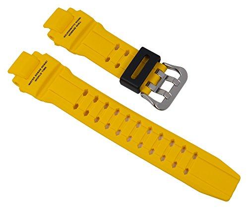 Casio G-Shock Ersatzband Uhrenarmband Resin Band Gelb für GA-1000 10475506