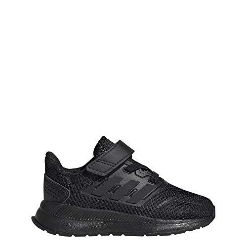 Adidas Unisex Baby Runfalcon Indoor buty do biegania, niebieskie, czarny - C szary - 20 EU