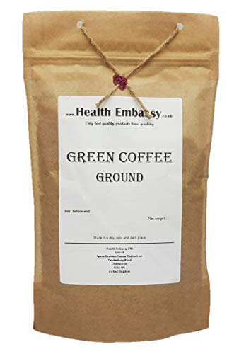 Health Embassy Cafe Verde Terreno / Green Coffee Ground, 225g