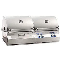 Fire Magic Aurora A830i Built-in Dual Propane Gas And Charcoal Combo