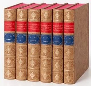 Diccionario De Autoridades, 6 T. Coleccion Completa Version De Lujo. Precio En Dolares