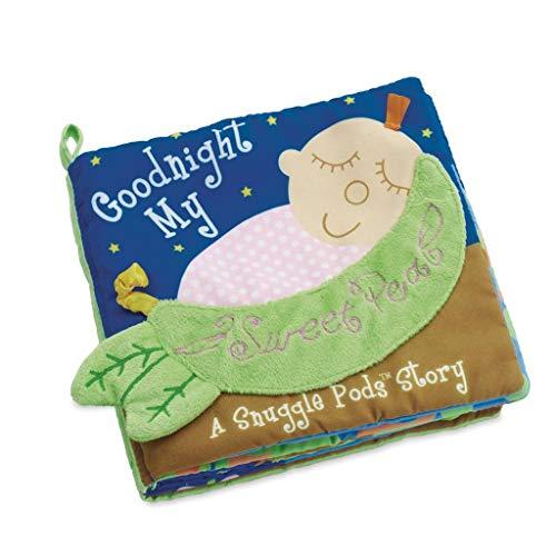 Manhattan Toy Snuggle Pods Bonsoir, Livre d'activités, bébé doux, pois sucrés