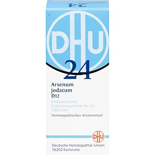 DHU Schüßler-Salz Nr. 24 Arsenum jodatum D12 Tabletten, 80 St. Tabletten