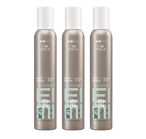 Wella EIMI Boost Bounce 3 x 300 ml Locken-Mousse Volume Schaumfestiger Styling Professionals by Wella
