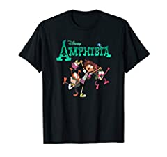 Official Disney Merchandise Disney Channel Amphibia T-Shirt for Girls, Boys, Men, and Women Lightweight, Classic fit, Double-needle sleeve and bottom hem