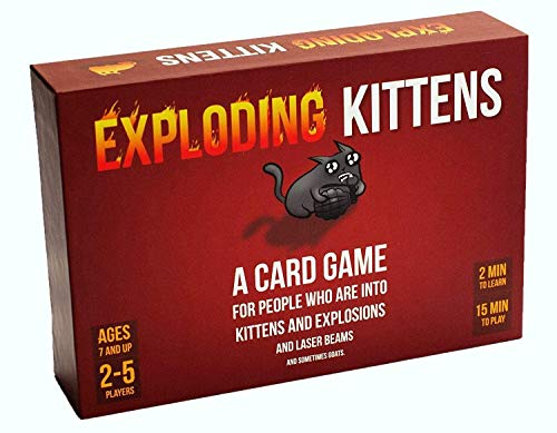 Exploding Kittens Card Game - Family-Friendly Party Games -...