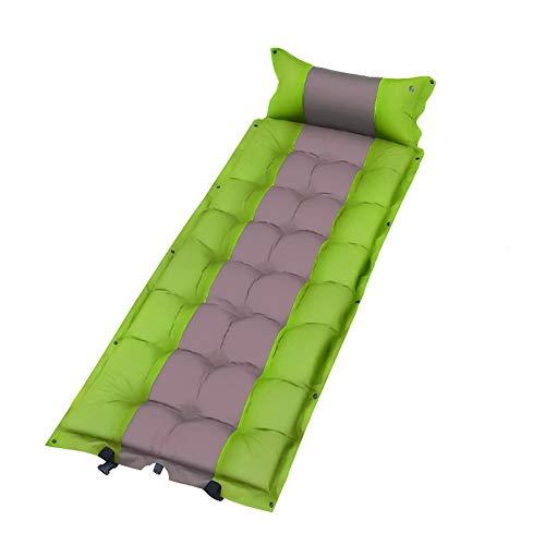 YYHSND Colchoneta for Dormir, Tienda de Picnic en la Playa, colchoneta for Dormir, colchón for la Humedad, colchón Individual al Aire Libre Bolsa de Dormir (Color : Green)