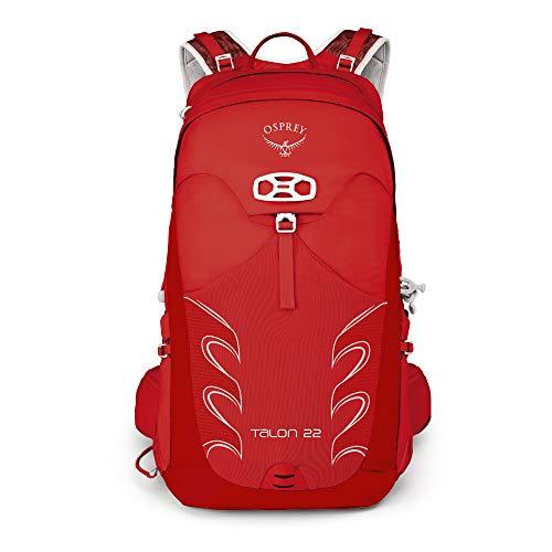 Osprey Packs Talon 22 Men's Hiking Backpack, Small/Medium, Martian Red